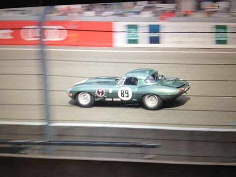 Jag E-type at Le Mans