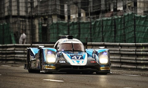 The LMP2-winning Oreca 05 - Nissan
