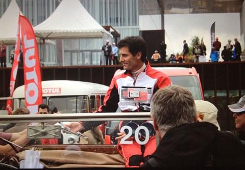 Mark Webber at Le Mans 2015