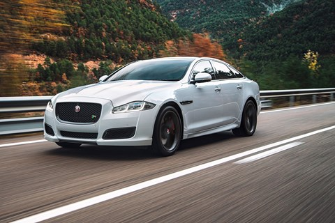The high-performance 503bhp Jaguar XJR