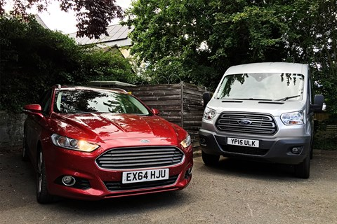 Ford Mondeo and Ford Transit