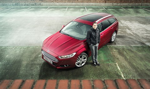 CAR magazine's Chris Chilton and our new Ford Mondeo Estate