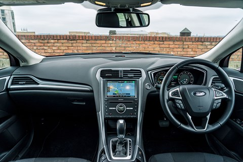 Inside the cabin of our Titanium-spec Ford Mondeo Estate (2015)