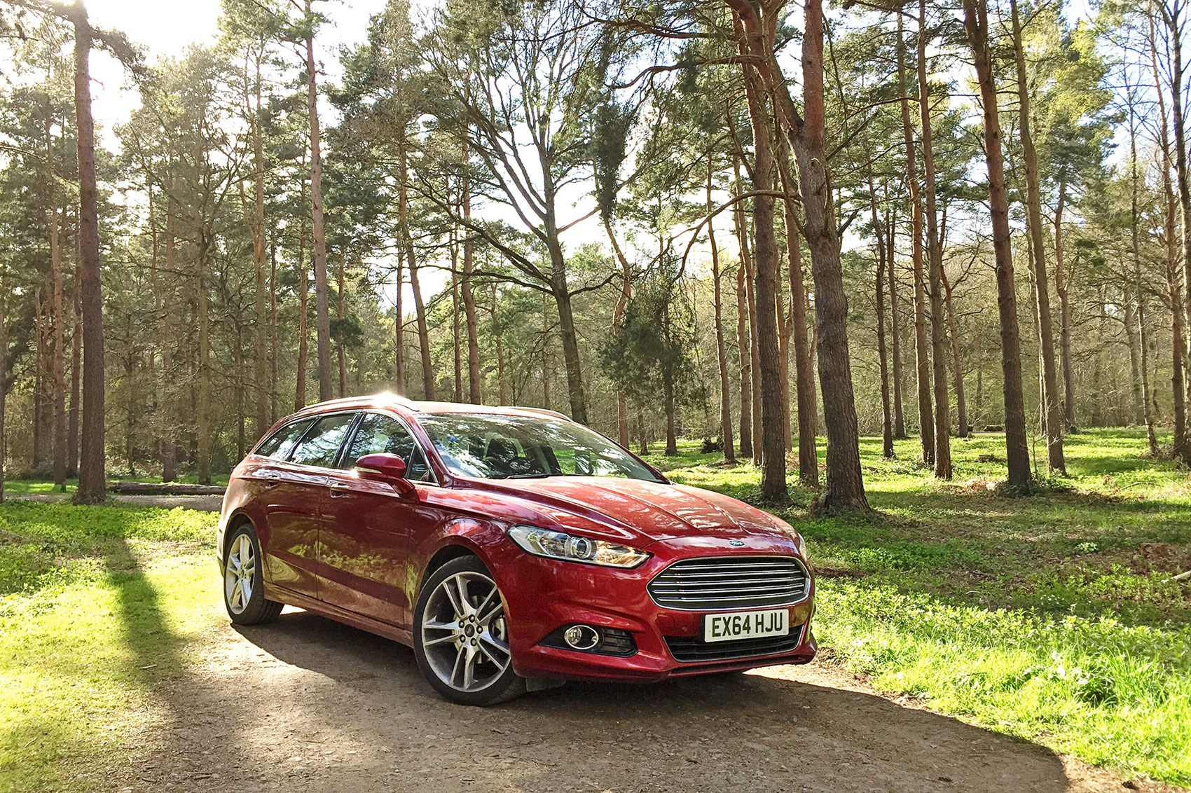 Mondeo Always Did Make A Great Copse Car