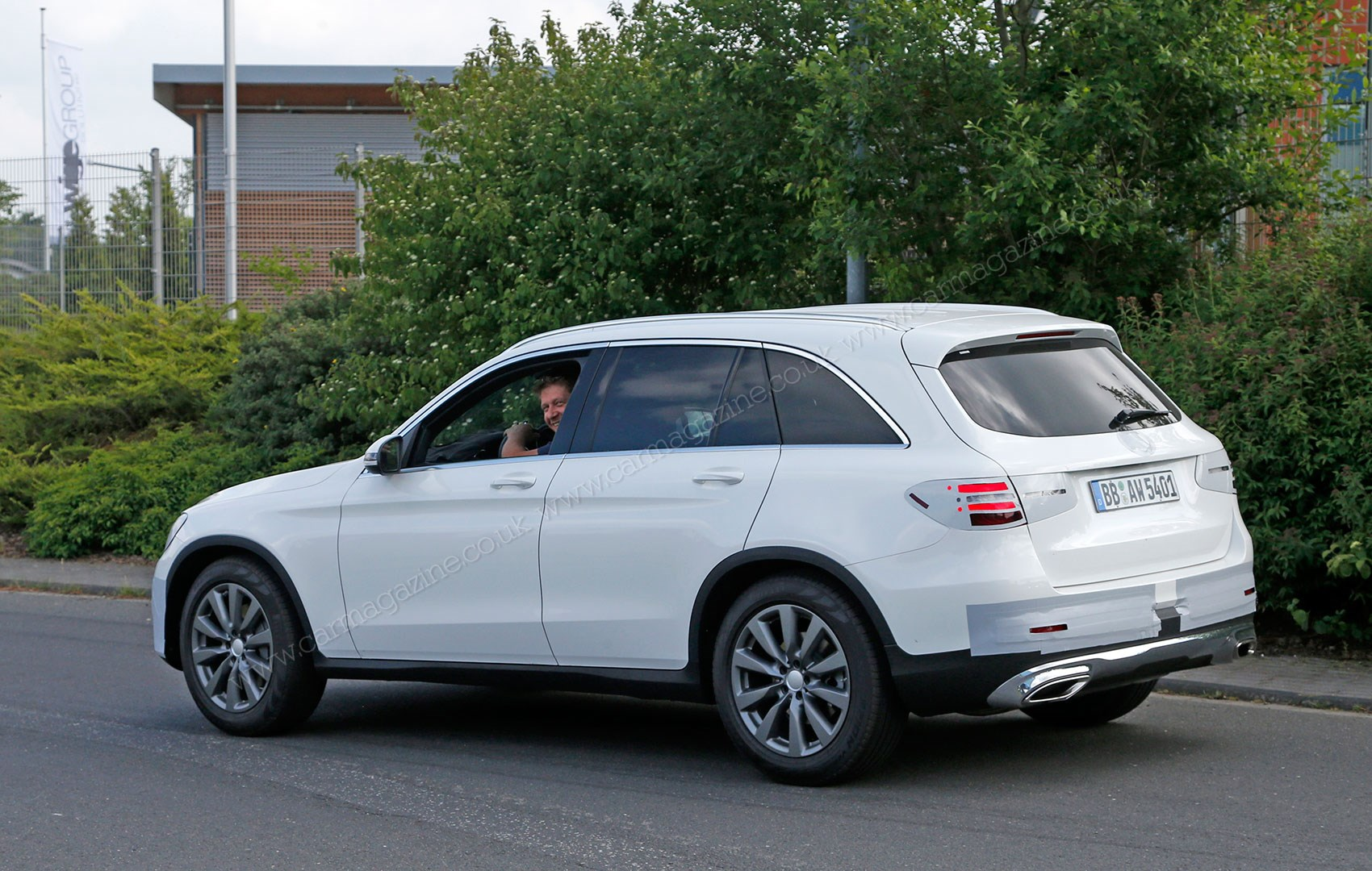 Mercedes Glc New Glk Successor Spied With Minimal Disguise By Car Magazine