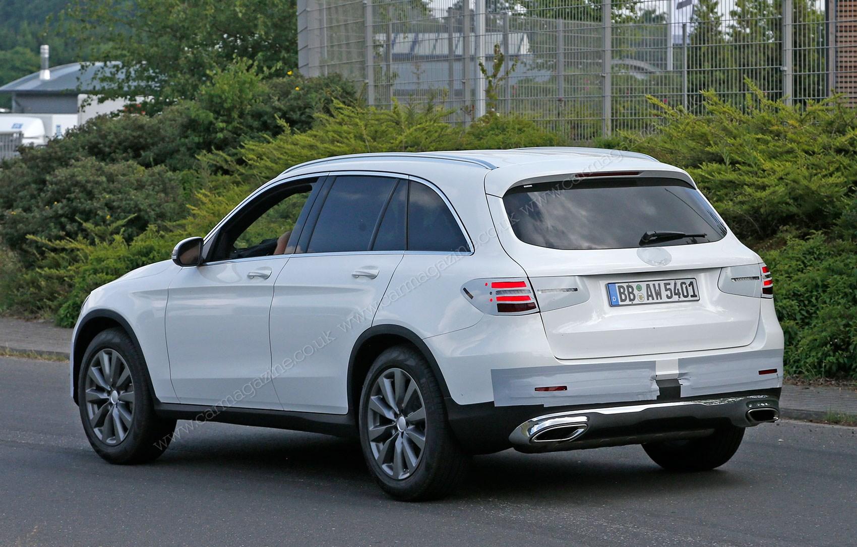 Mercedes GLC: new GLK successor spied with minimal disguise | CAR