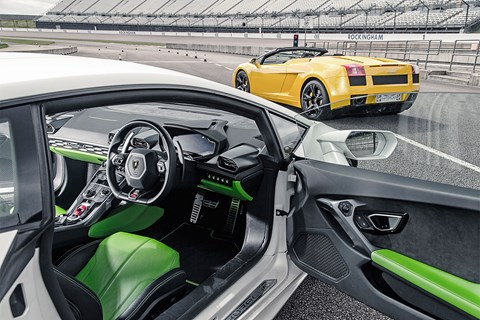 Lamborghini Huracan interior