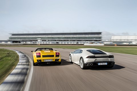 CAR's Lamborghini Huracan meets its Gallardo predecessor
