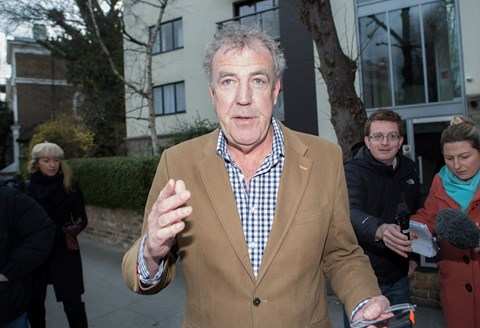 Jeremy Clarkson in the wake of the punching fracas (Daniel Leal-Olivas/PA Wire)