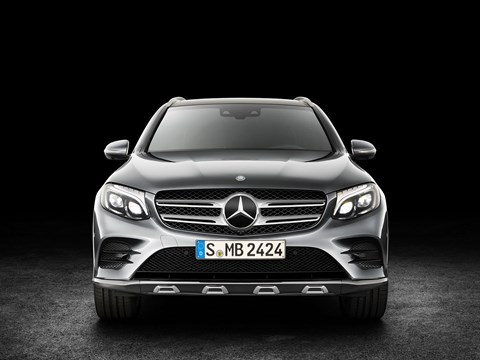 The face of the new Merc GLC