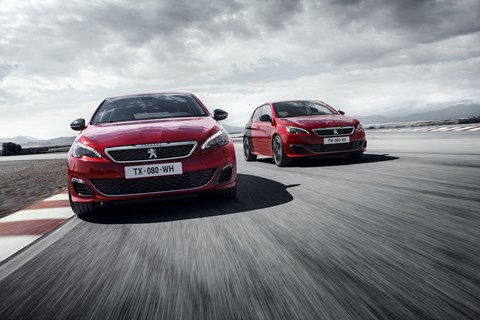 Choose your strength of Peugeot 308 GTI