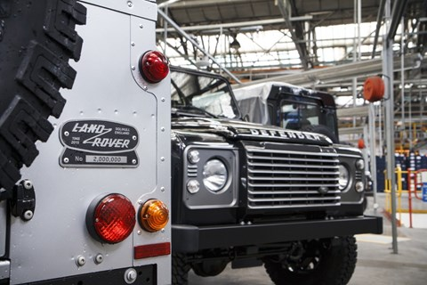 67 years of mud-plugging: the two millionth Land Rover Defender