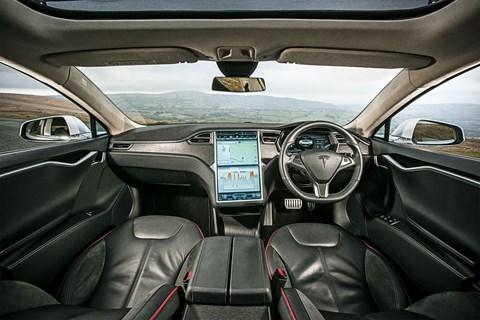 Meet the future of cabin design: inside the Tesla Model S's cockpit