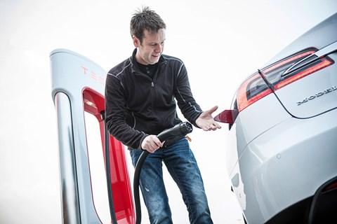 Charging up the Tesla Model S