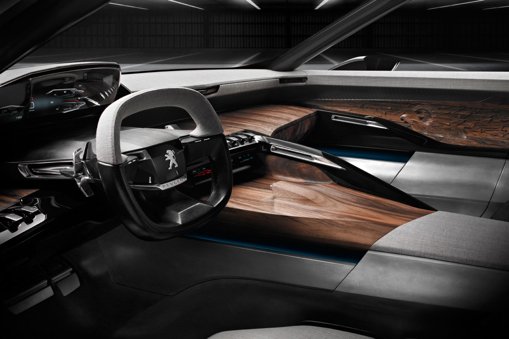 Peugeot interiors: tiny steering wheels for all   CAR Magazine