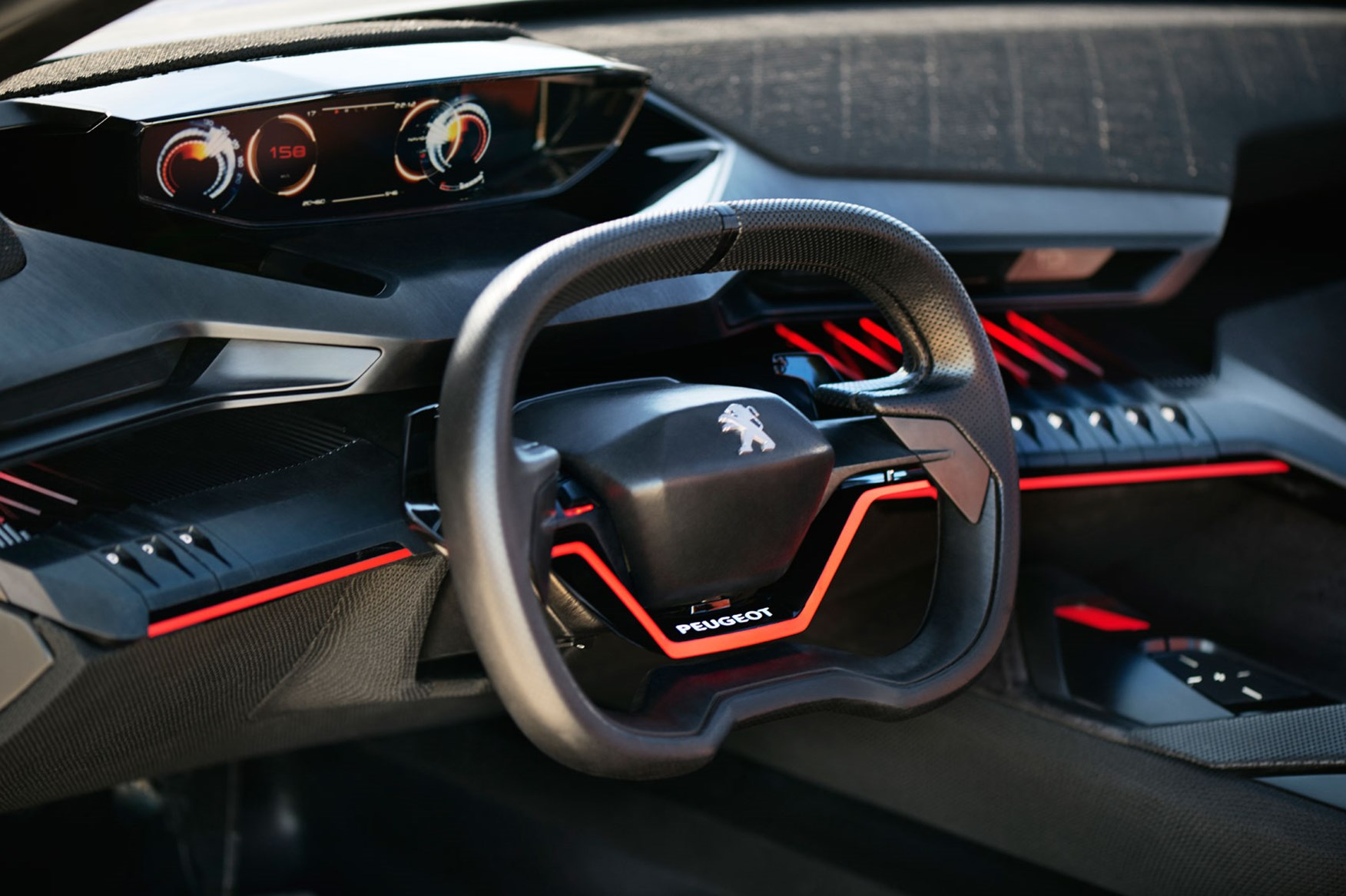 Peugeot 6008 2018 >> Peugeot interiors: tiny steering wheels for all by CAR Magazine