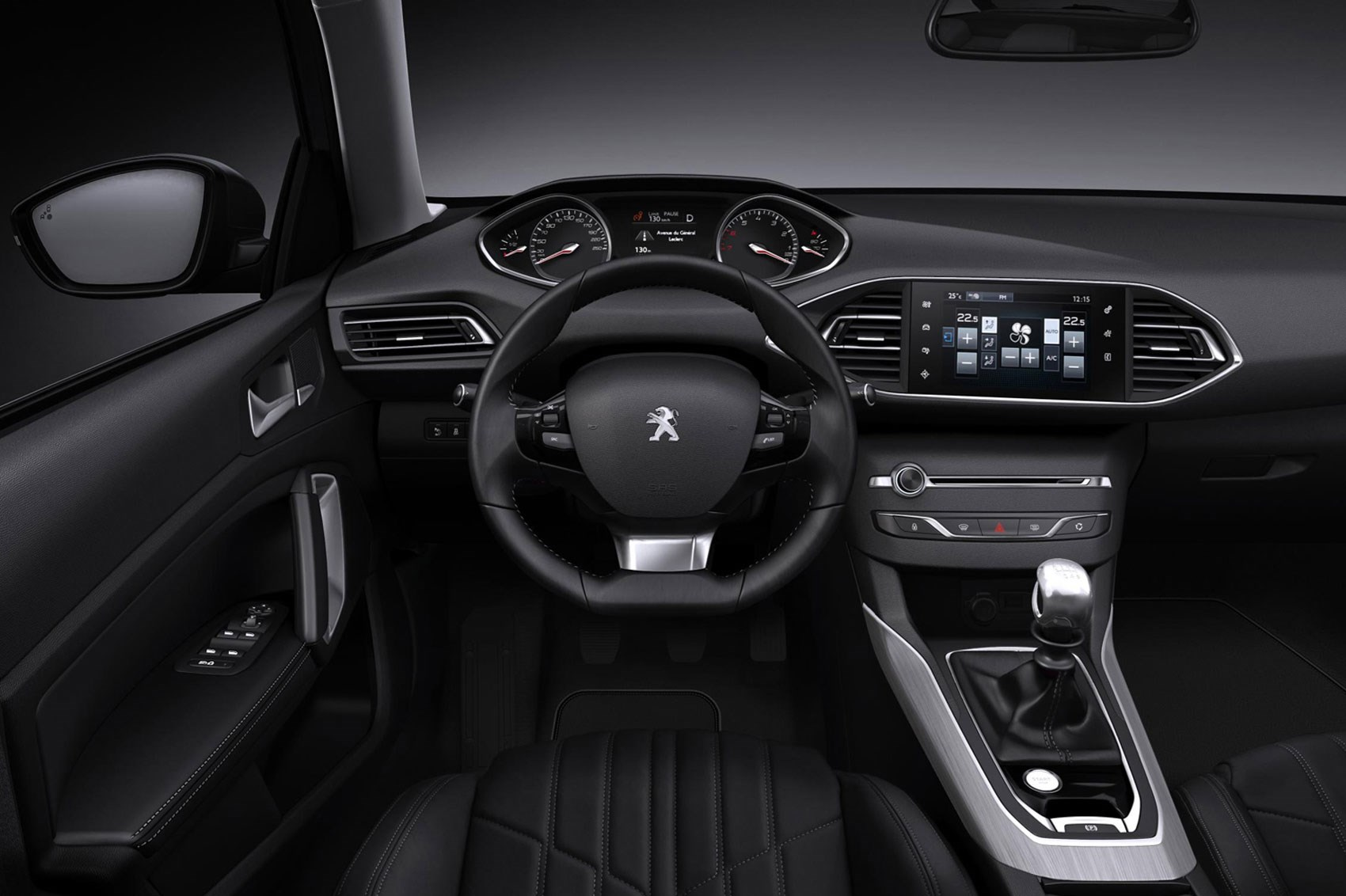 Peugeot interiors: tiny steering wheels for all by CAR ...