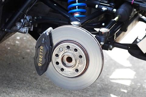 Ginetta G40 brakes