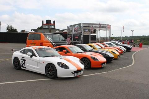 Ginetta Le Mans road trip 2015