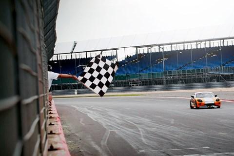 Ginetta G40 GRDC Silverstone 2015