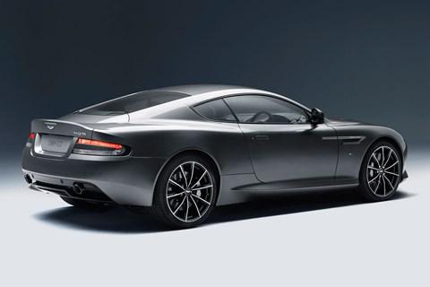 The new 2015 Aston Martin DB9 GT