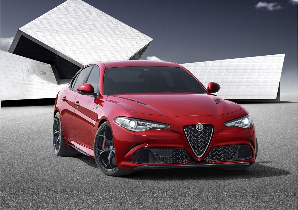 Alfa Romeo Giulia In Pictures And On Video Its The New - New alfa romeo for sale
