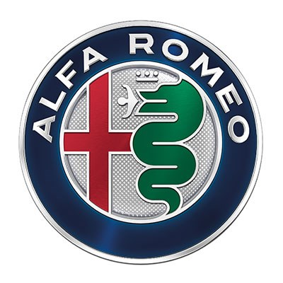 The new 2015 Alfa Romeo badge