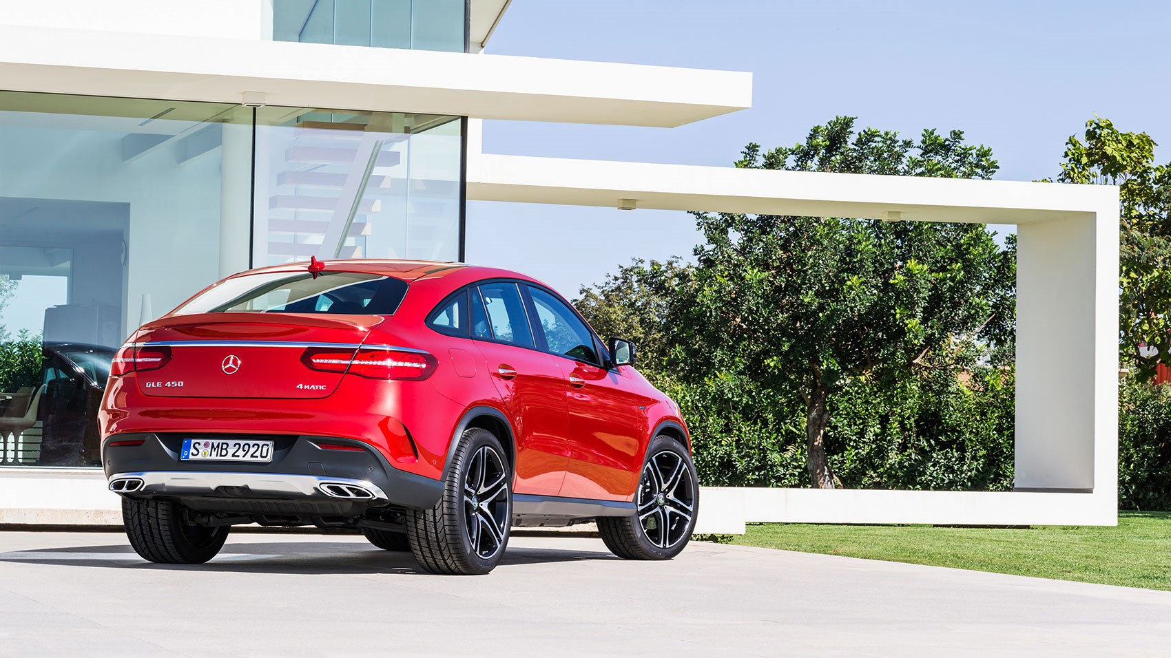 Mercedes Gle450 Amg Coupe 2016 Review By Car Magazine