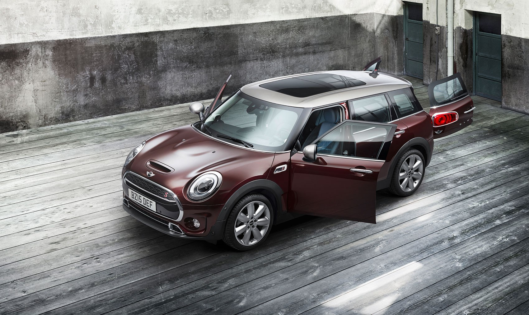 Mini Clubman 2015 Biggest Mini Yet Keeps Barn Doors