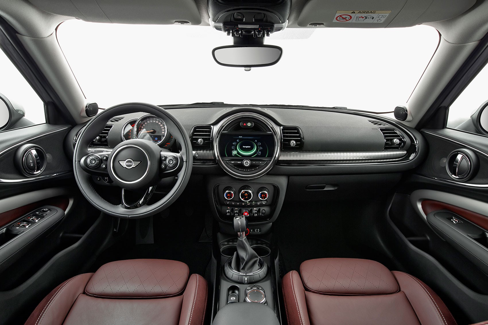 Cabin Of New Mini Clubman Just Like The Hatch S