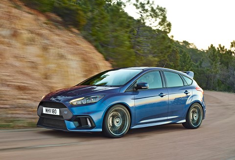 Ford Focus RS (2016): now with 345bhp