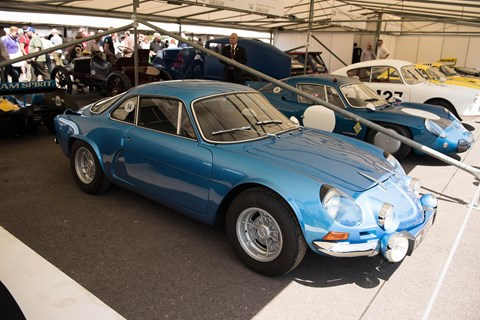 Alpine at Goodwood