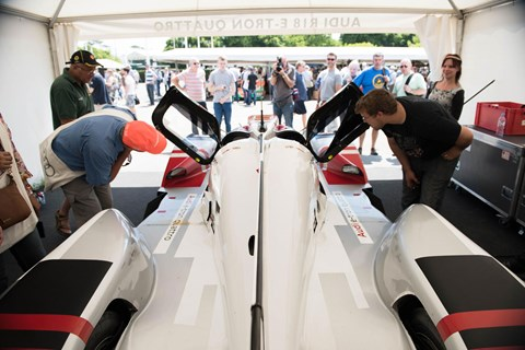 Audi R18 eTron at Goodwood