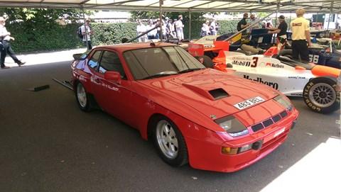 Derek Bell's Porsche 924