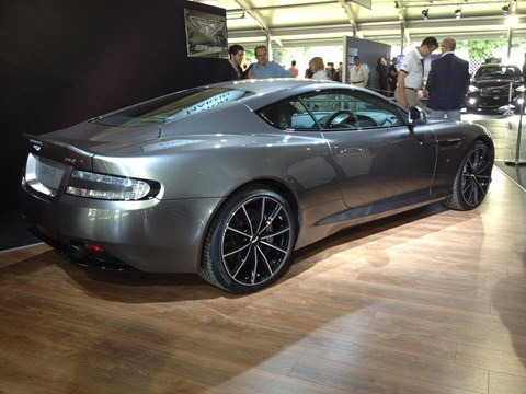 Aston Martin DB9 GT at Goodwood