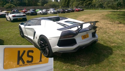 Aventador at Goodwood