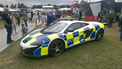 McLaren police car: don't out-run this one!
