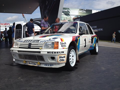 The legendary Peugeot 205 T16