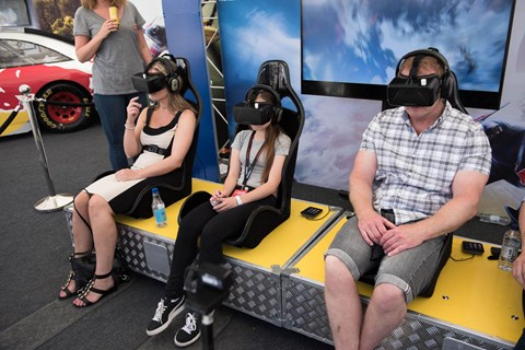 Virtual reality at Goodwood
