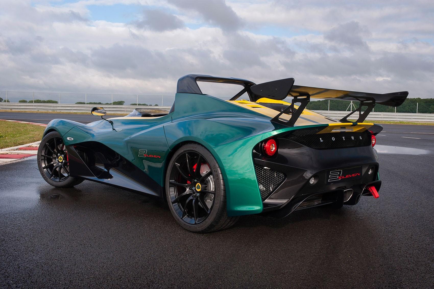 Lotus 3-Eleven unveiled: the fastest Lotus ever! | CAR Magazine
