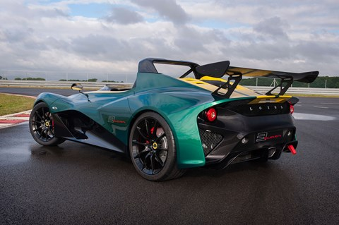 The new Lotus 3-Eleven: 0-60mph in less than 3.0sec