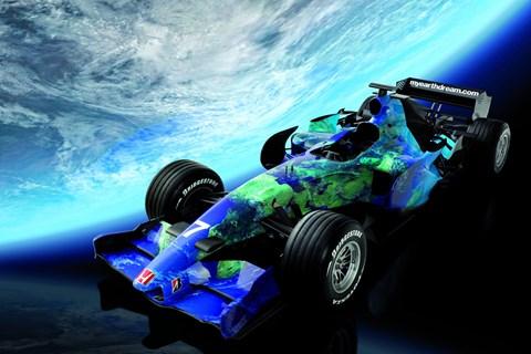 Honda 'Earth Dreams' F1 livery