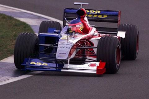 1999 BAR F1 car