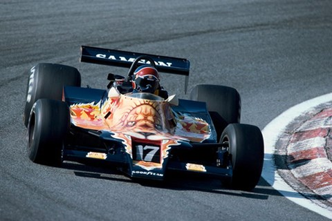Jan Lammers 1979 Shadow F1