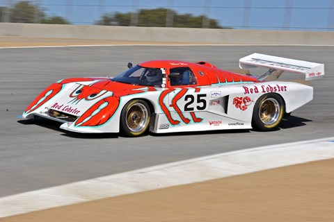 Red Lobster-sponsored March GTP car