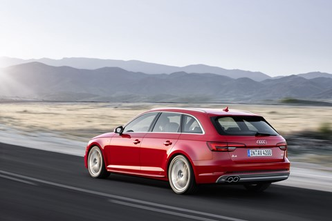 Audi A4 Avant now out-boots a 3-series or C-class wagon
