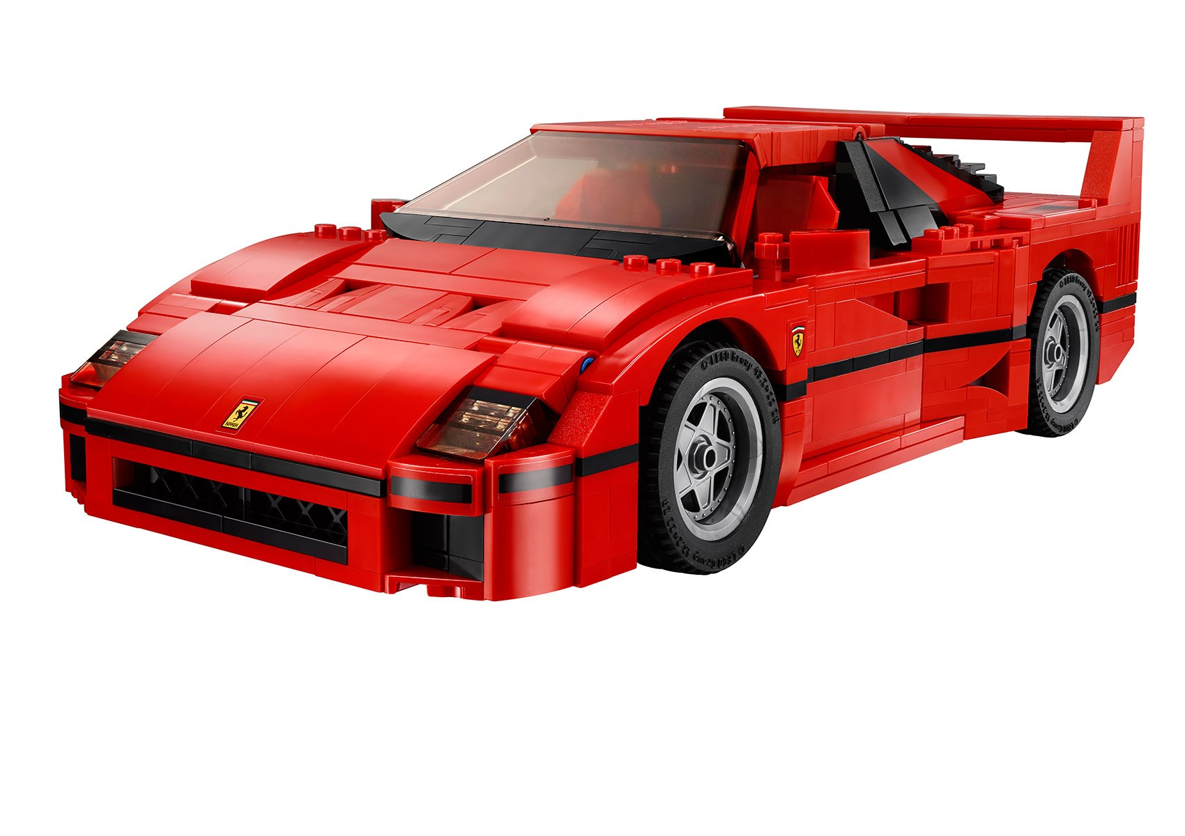 lego ferrari f40 announced iconic 1987 supercar s blockbuster toy by car magazine. Black Bedroom Furniture Sets. Home Design Ideas