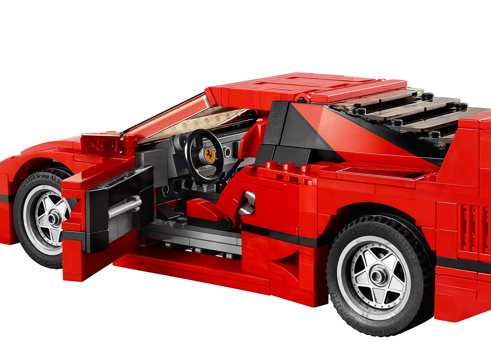 Lego Ferrari F40 Announced Iconic 1987 Supercar S