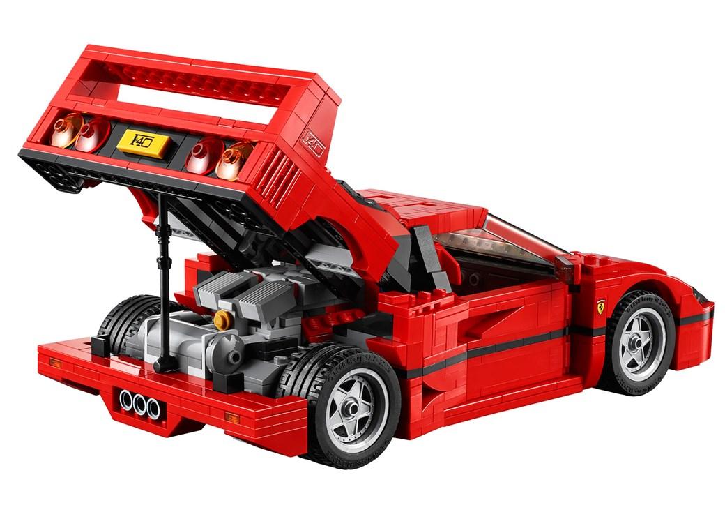 Lego Ferrari F40 announced: iconic 1987 supercar's blockbuster toy