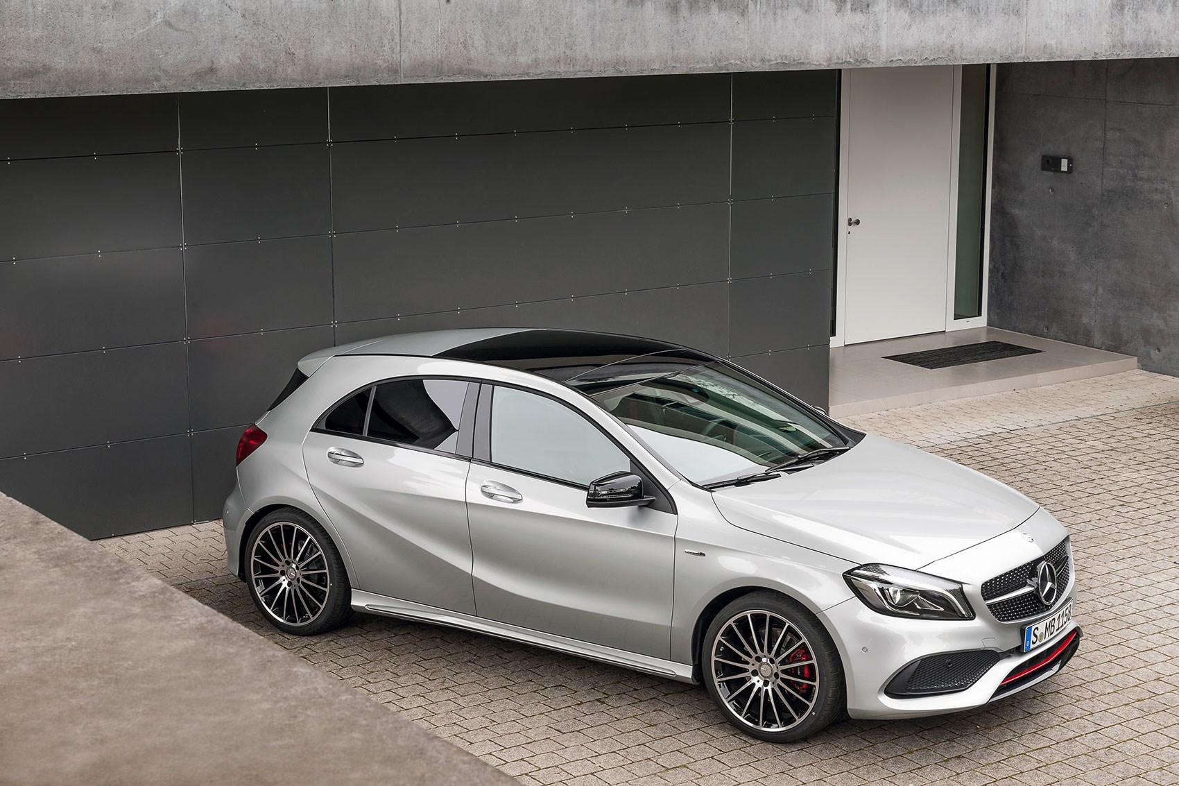 Mercedes A45 AMG muscles up to 381bhp in 2016 Aclass facelift by